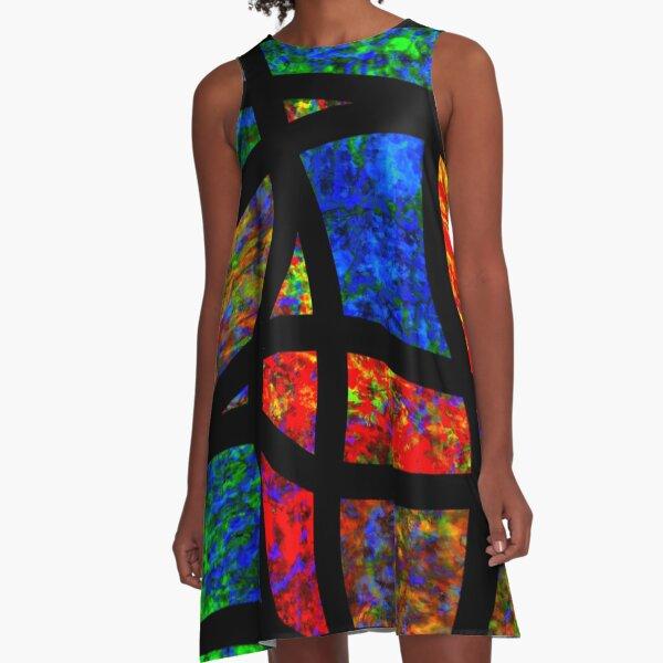Shou Mei Waves VI A-Line Dress