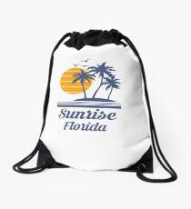 Sunrise Florida Shirt FL State Home City Tourist Travel Souvenir Beach Gift Drawstring Bag