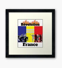 Lámina enmarcada Camiseta Revolution France - Camiseta France - Camiseta Vestes Jaunes - Camiseta Revolution - Camiseta Protest - Camiseta Protest - Camiseta Protest French