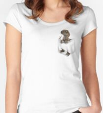 Pocket Protector - Clever Girl Fitted Scoop T-Shirt
