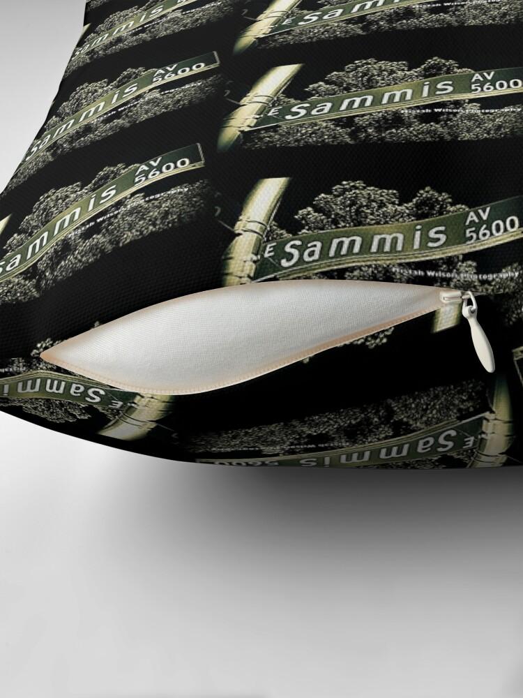 Alternate view of Sammis Avenue, Las Vegas, Nevada by Mistah Wilson Photography Floor Pillow