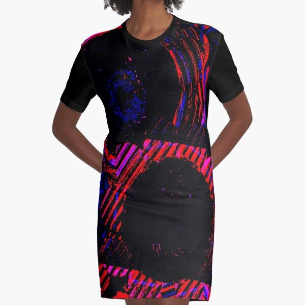 Shou Mei Sunflowers Graphic T-Shirt Dress
