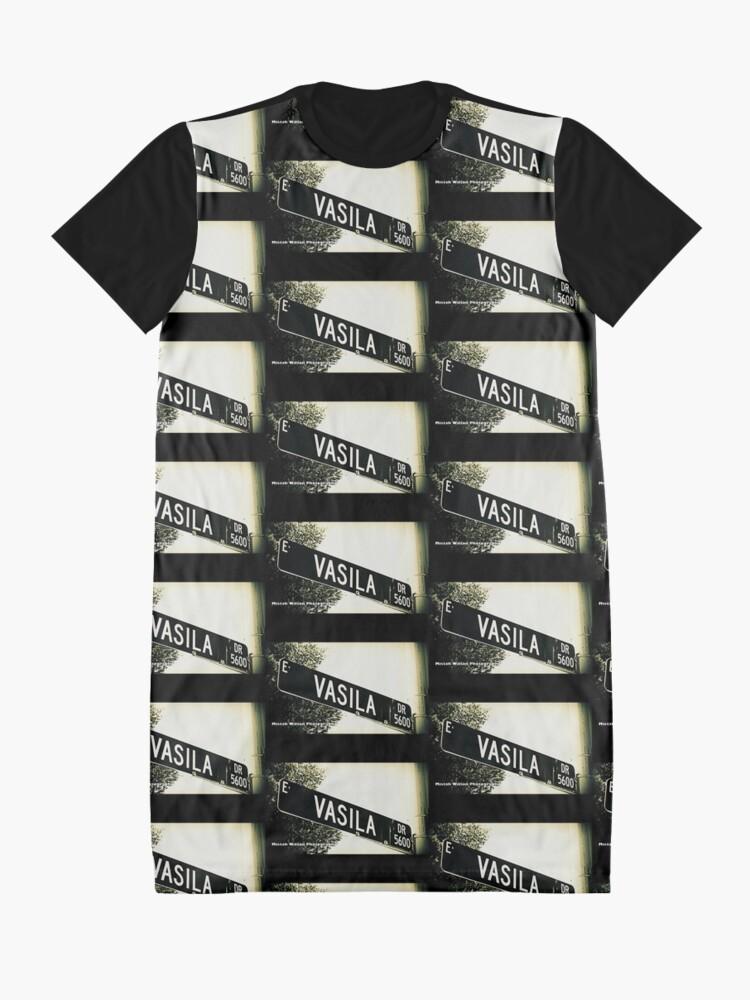 Alternate view of Vasila Drive, Las Vegas, Nevada by Mistah Wilson Photography Graphic T-Shirt Dress