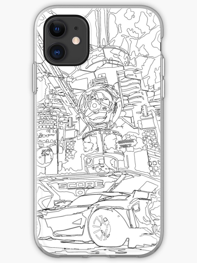 Neo Tokyo Sketch Iphone Case Cover By Ananaexpress Redbubble See more ideas about rocket drawing, rocket, rockets logo. redbubble