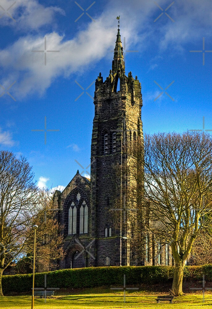 Craigmailen Church by Tom Gomez
