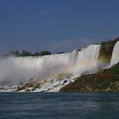 Niagara Falls Rainbow by klziegler