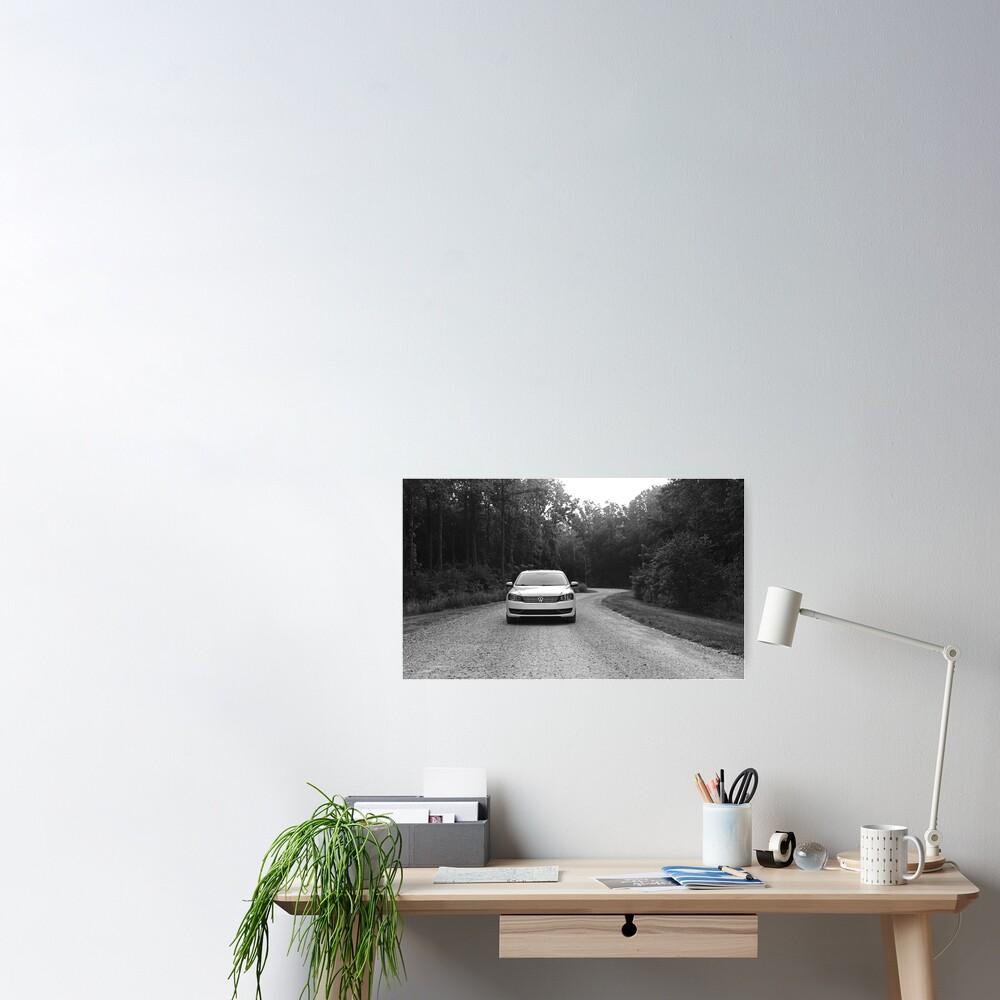 Volkswagen Passat Poster