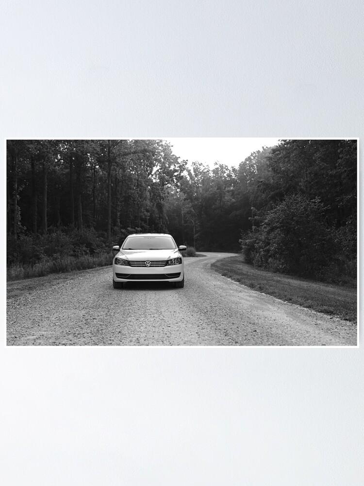 Alternate view of Volkswagen Passat Poster