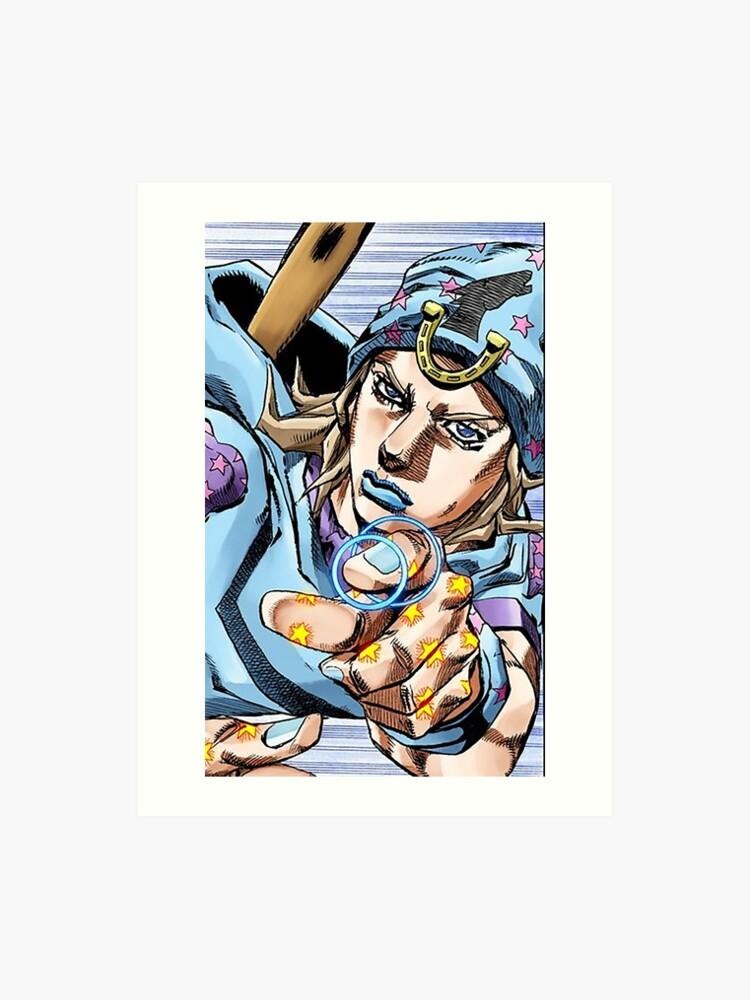 Johnny Joestar - JoJo's Bizarre Adventure Manga | Art Print