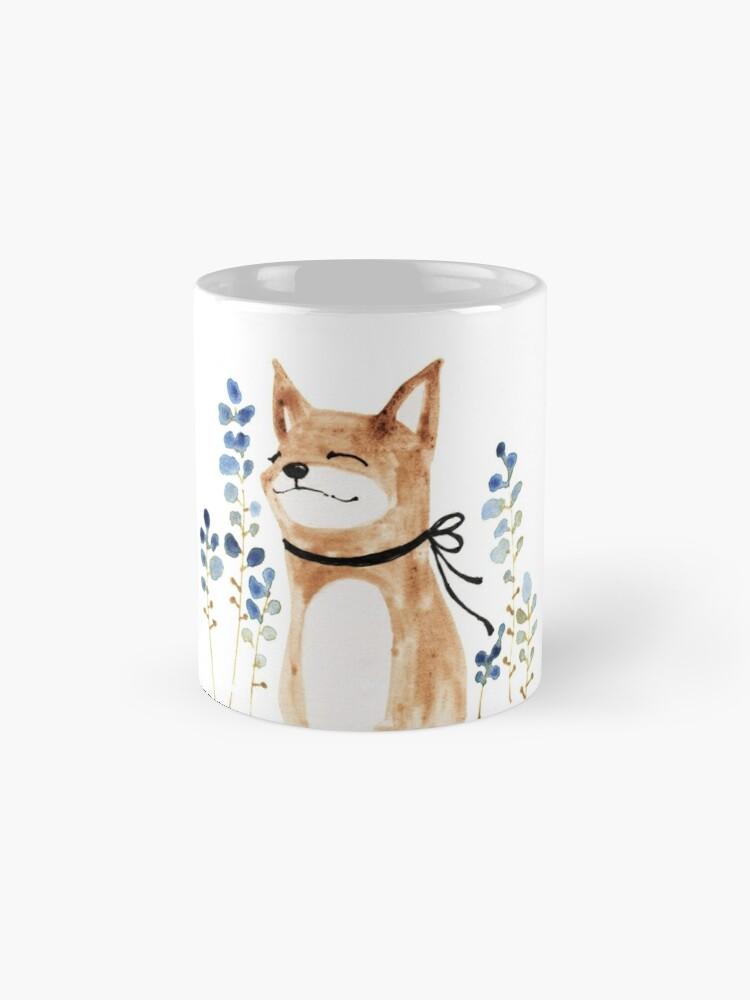 Alternate view of Fox and Flower Mug