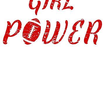 Girl Power Tshirt, Feminism Tee Girl Power Shirt, Feminist Gift, Feminist Shirt, Tumblr Clothing gift, American Football Fan Shirt by -WaD-