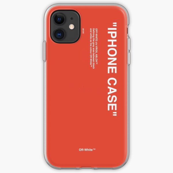 iPhone Case Red iPhone Soft Case