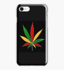 Ganja Leaf Collection iPhone Case/Skin