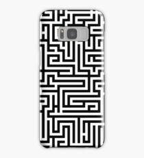 Maze Design Samsung Galaxy Case/Skin