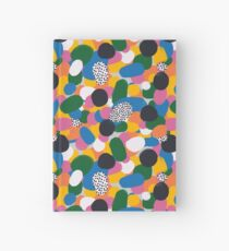 Abstract Rainbow Hardcover Journal