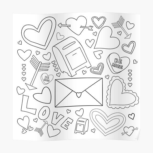 Valentine's Day Jumble Poster