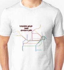 shitty-rail map T-Shirt