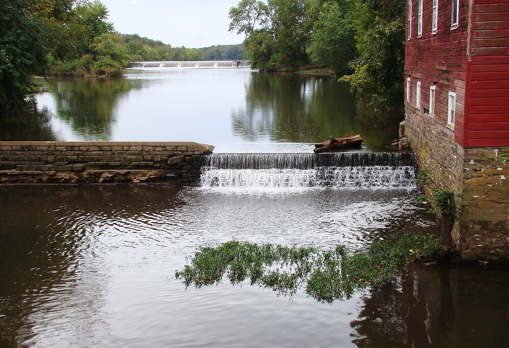 Millstone River and Mill by Kelly Chiara