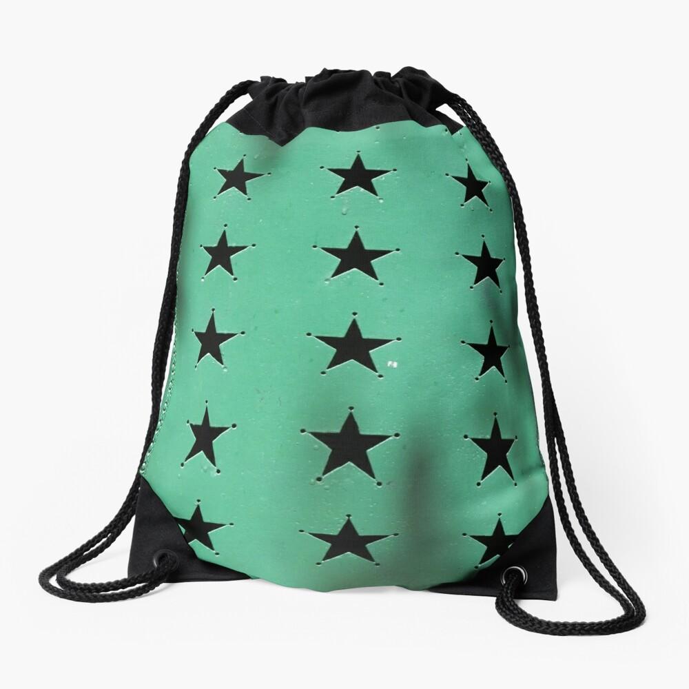 Green door - 21 stars Drawstring Bag