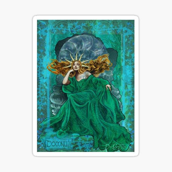 Celtic Goddess - Domnu Sticker
