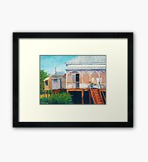 Henessey's House Framed Print