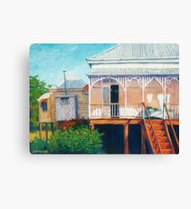Henessey's House Canvas Print