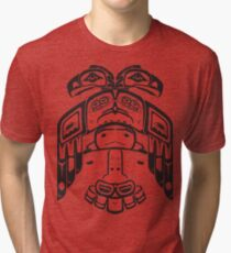 Haida - With Respect Tri-blend T-Shirt