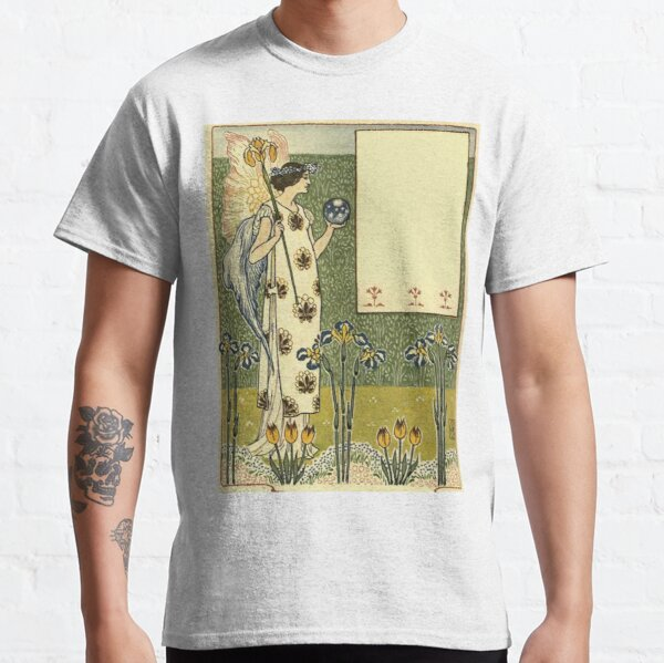 Vintage Arts and Crafts Illustration Painting Classic T-Shirt