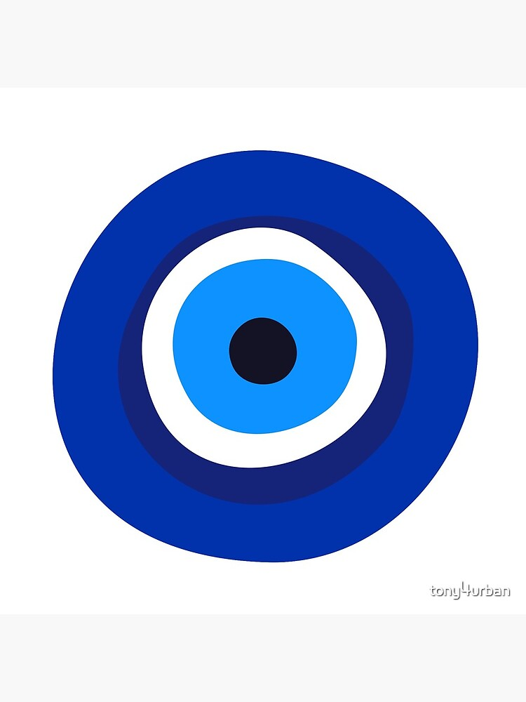 evil eye symbol  by tony4urban