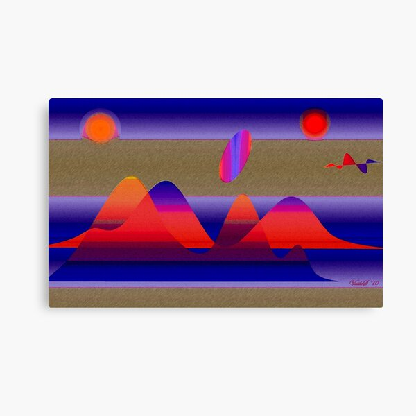 The Y planet revisited Canvas Print
