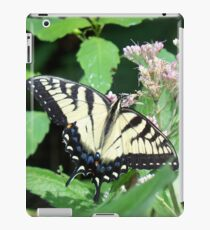 Canadian Tiger Swallowtail Butterfly iPad Case/Skin