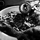 ashtray by Dacey Barnes