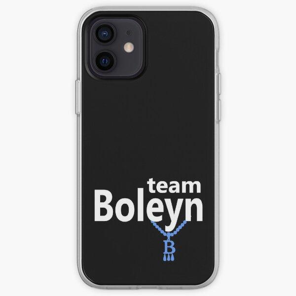 Team Boleyn on black iPhone Soft Case