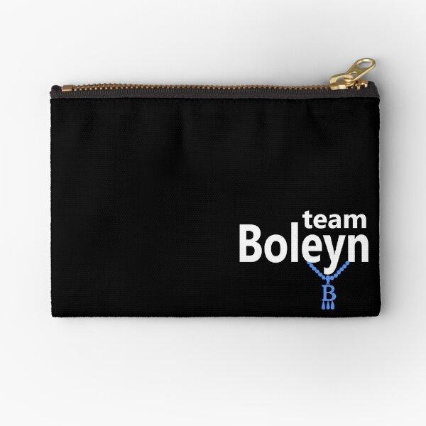 Team Boleyn on black Zipper Pouch