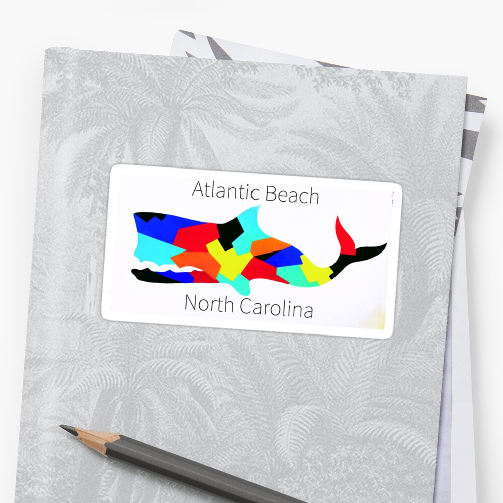 Atlantic Beach NC Stickers