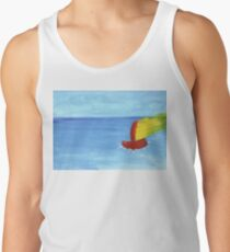 Boat and sea - paint T-Shirt