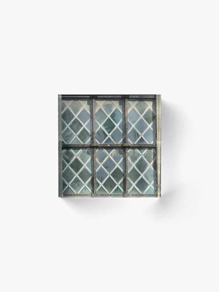 Alternate view of Window panes Acrylic Block