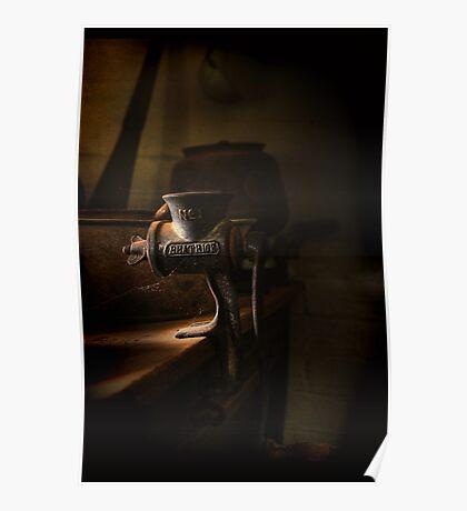 The Mincer ~ Monte Cristo Poster