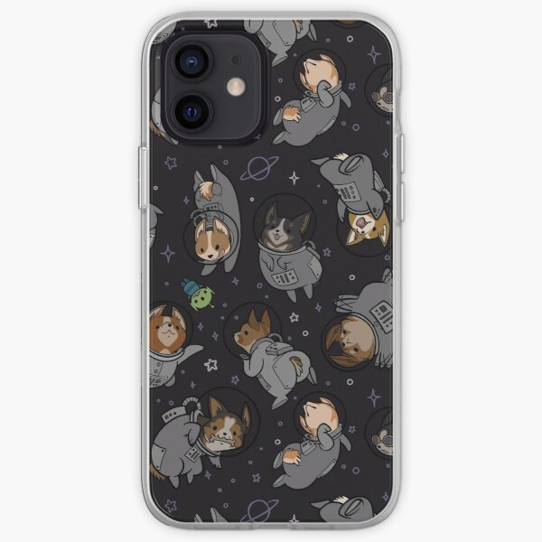Corgis In Space! iPhone Soft Case