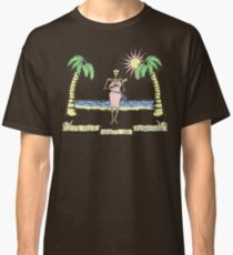 """Let's Talk Dirty In Hawaiian"" (faded) Classic T-Shirt"