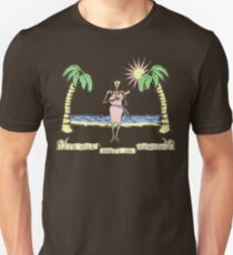 """Let's Talk Dirty In Hawaiian"" (faded) Unisex T-Shirt"