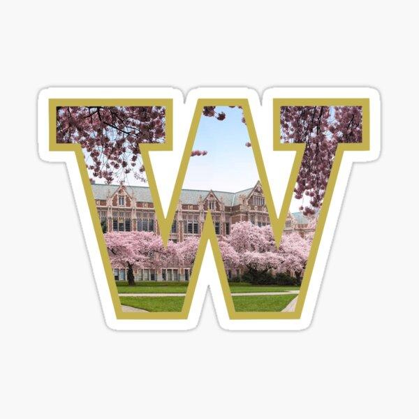 University of Washington Logo Sticker