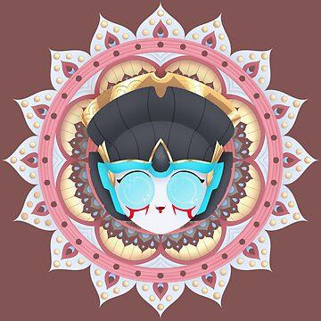 Windblade Mandala ~ Transformers by Chioccetta