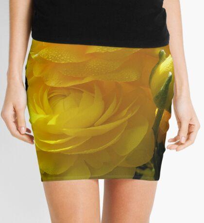 Make Mine Yellow Mini Skirt