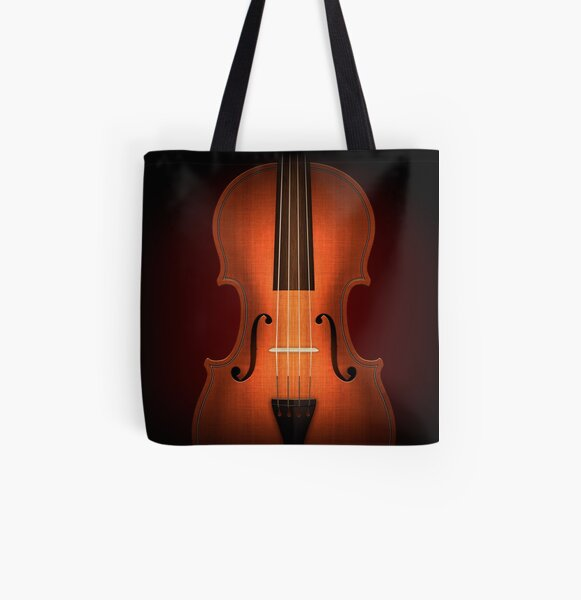 Straordinarius Stradivarius All Over Print Tote Bag