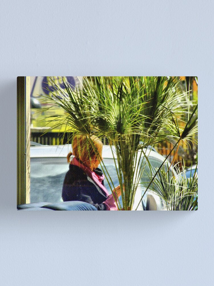 Alternate view of something of blond 4 Canvas Print