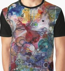 Portals, ink and mixed media on paper composite panel Graphic T-Shirt