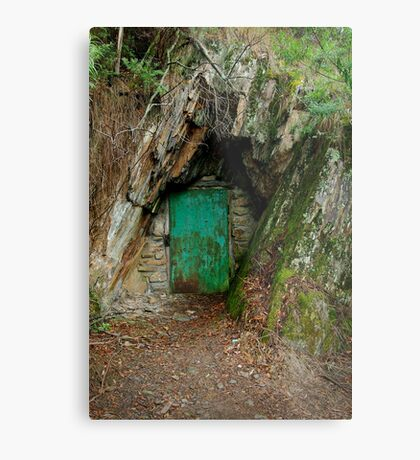 Long Tunnel Extended Gold Mine,Walhalla Metal Print