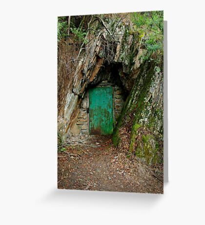 Long Tunnel Extended Gold Mine,Walhalla Greeting Card