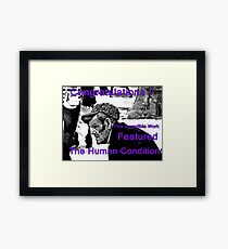 The Human Condition Banner Framed Print